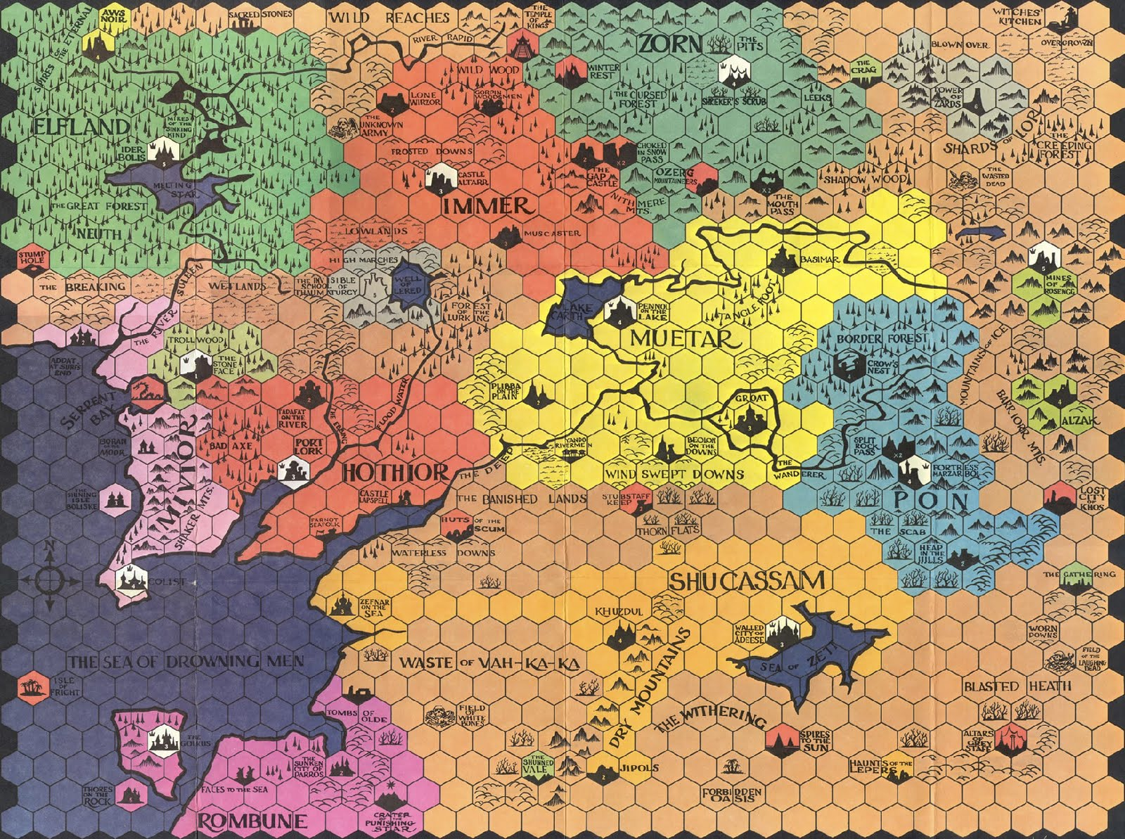 Minaria, as far as I'm concerned the best hexmap every made.